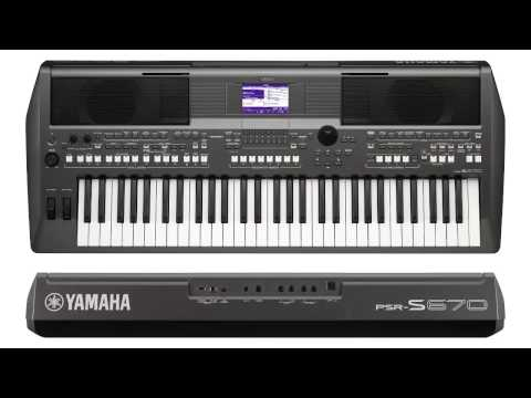 ĐÀN YAMAHA PSR S670 MỚI CHÍNH HÃNG YAMAHA - CANAAN MUSIC
